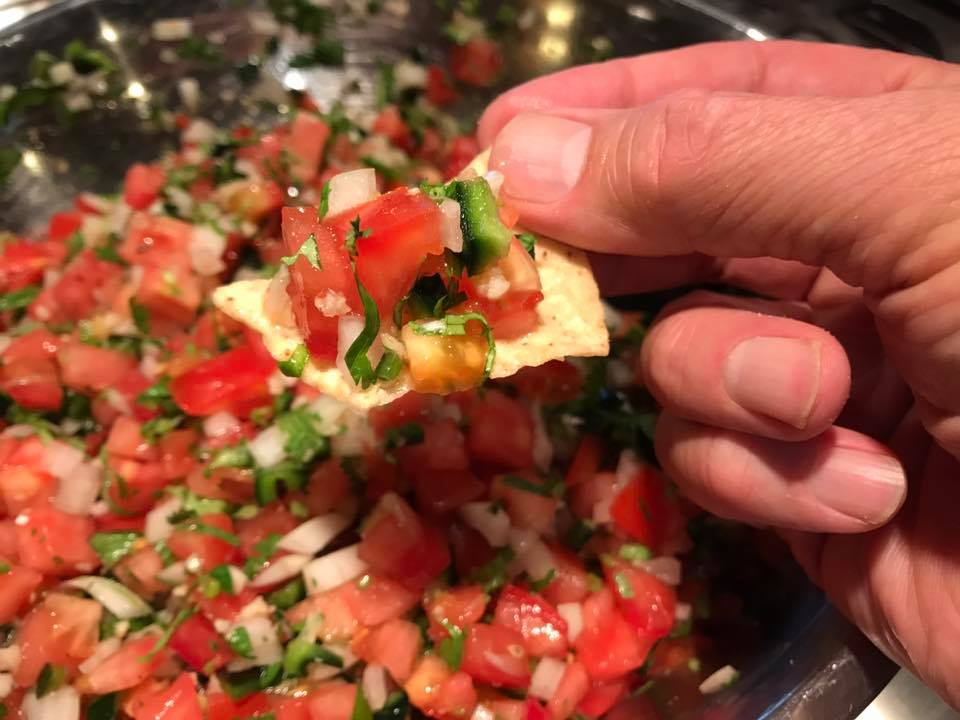 Kickin' it garlic seasoning salt salsa mexicana recipe
