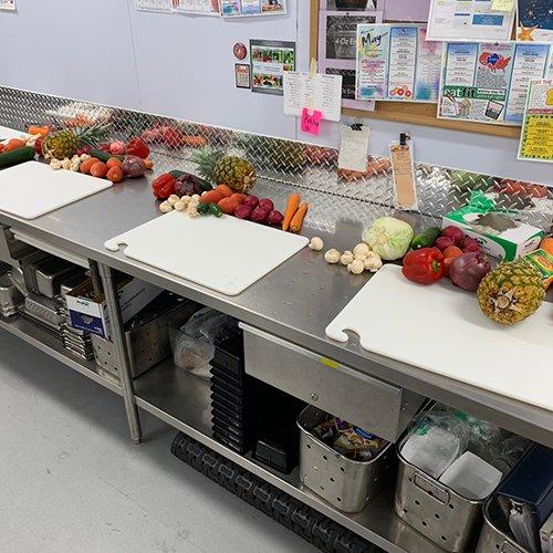 School Food Service Class